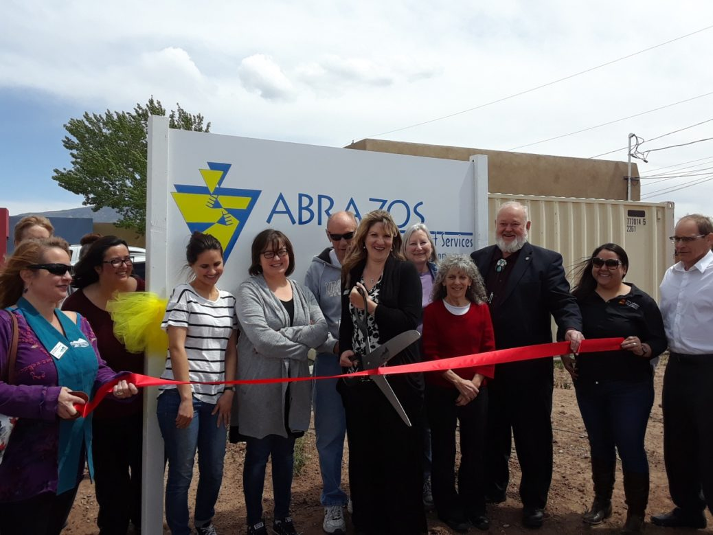 Abrazos Ribbon Cutting April 2018
